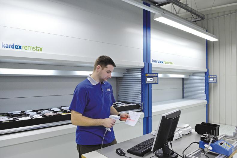 Industriewebinar van Warehouse Totaal over E-commerce met Kardex Remstar